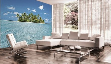 Maledive dream tropical island photo wallpaper mural